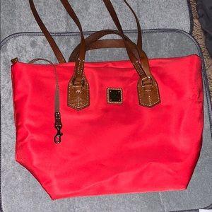 Dooney & Bourke RED NYLON BAG